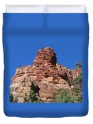 Towering Cliff Duvet Cover
