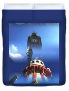 Towers Of London Duvet Cover