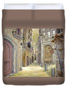 Town Alley Duvet Cover