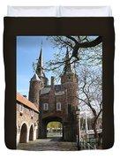 Town Gate - Delft Duvet Cover