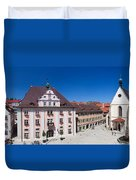 Town Hall And St. Martin Cathedral Duvet Cover