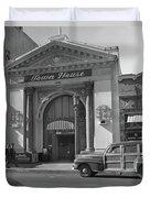 Town House And Woody Station Wagon, Alvarado Street - Monterey   Duvet Cover