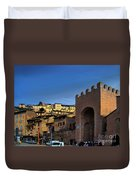 Town Of Assisi, Italy Duvet Cover