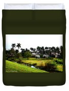 Town Of Pahokee Duvet Cover