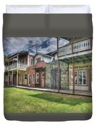 Town Of The Fromtier  Duvet Cover