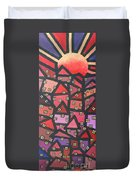 Town Of The Rising Sun Duvet Cover
