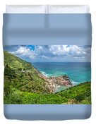 Town Of Vernazza, Cinque Terre, Italy Duvet Cover