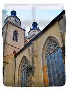 Town Parish Church Duvet Cover
