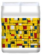 Town Square Duvet Cover
