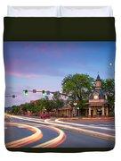 Towndown  Beaver  Duvet Cover