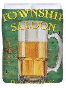 Township Saloon Duvet Cover