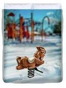 Toy Mule Duvet Cover