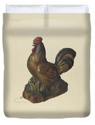 Toy Rooster Duvet Cover