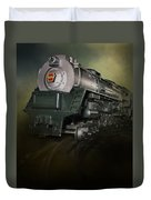 Toy Train Duvet Cover