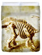 Toys And Artefacts Duvet Cover