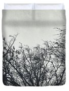 Traces Of Reality Duvet Cover