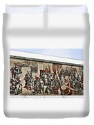 Traces Of Socialist Idealism In Dresden Duvet Cover by Christine Till