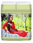Tracie Dang 3 Duvet Cover