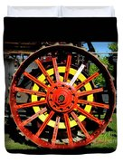 Tractor Big Wheel Duvet Cover