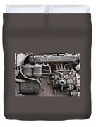 Tractor Engine II Duvet Cover