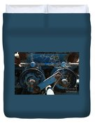 Tractor Engine IIi Duvet Cover by Stephen Mitchell