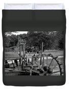 Tractor Graveyard Duvet Cover