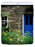 Traditional Cottage, Co Cork Duvet Cover