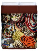 Traditional Moroccan Rugs Duvet Cover