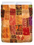 Traditional Patchwork Tapestry Duvet Cover