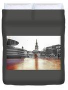 Trafalgar Square Fountain London 3b Duvet Cover