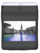 Trafalgar Square Fountain London 3d Duvet Cover