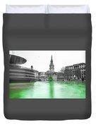 Trafalgar Square Fountain London 3f Duvet Cover