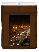 Traffic Malecon Pv Duvet Cover