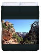 Trail - Zion Park Duvet Cover