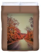 Straight And Narrow  Duvet Cover