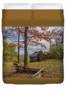 Trail Cabin Duvet Cover