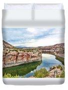 Trail Creek Canyon Duvet Cover