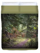 Trail In The Forest Duvet Cover