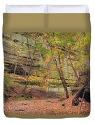 Trail In Tonty Canyon Duvet Cover