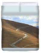 Trail Ridge Road Rocky Mountain National Park Duvet Cover