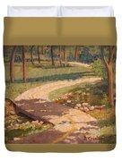 Trail Shadows Duvet Cover
