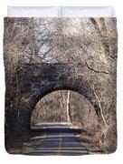 Trail Through History Duvet Cover