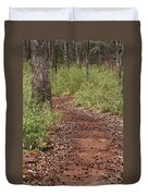 Trail To Beauty Duvet Cover
