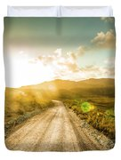 Trail To Trial Duvet Cover