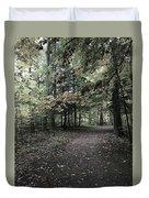 Trail Walking  Duvet Cover
