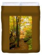 Trailhead Light Duvet Cover by Ed Smith