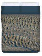 Trails In The Sand Duvet Cover
