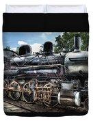 Train - Engine - 385 - Baldwin 2-8-0 Consolidation Locomotive Duvet Cover