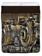 Train - Engine - Brothers Forever Duvet Cover