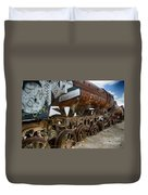 Train Graveyard Uyuni Bolivia 14 Duvet Cover